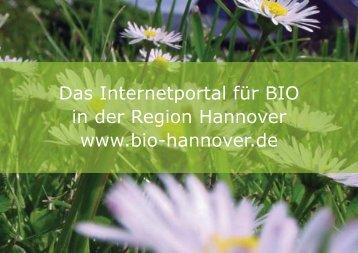 Pr.sentation bio-hannover_verdana.FH10 - Bio-hannover.de