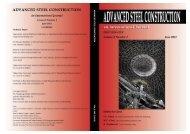Volume 8, No. 2 (June 2012) - The Hong Kong Institute of Steel ...