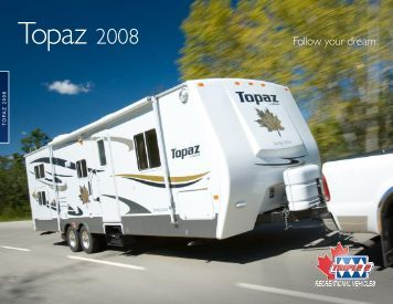 Topaz 2008 - Triple E Recreational Vehicles