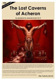 HS4 The Lost Caverns of Acheron - Hyborian Age - Xoth