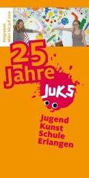 P rogramm März bis Juli 2011 25 - Logo JUKS Erlangen