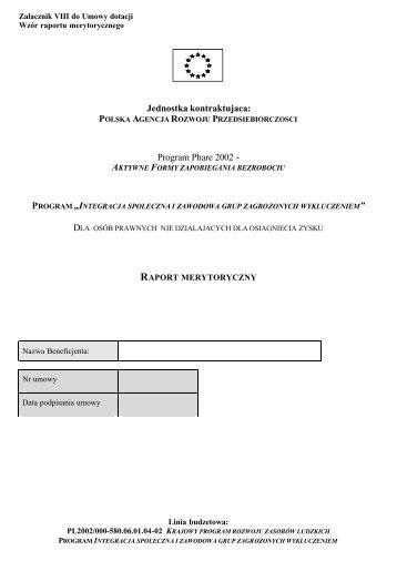 22,1 kb - Polska Agencja Rozwoju Przedsiębiorczości