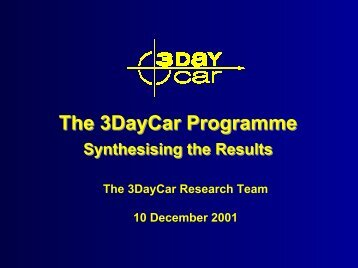 Synthesis of 3DayCar