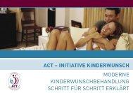 ACT - Initiative Kinderwunsch - Schweizerische Gesellschaft für ...