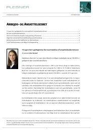 nyhedsbrev fra september 2009 - Plesner
