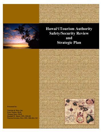 Hawai'iTourism Authority Safety/Security Review and Strategic Plan