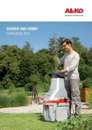 Download 12 MB, PDF-Datei - AL-KO Garten + Hobby