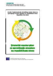 Rezime strateškog master plana za upravljanje otpadom na - Početna