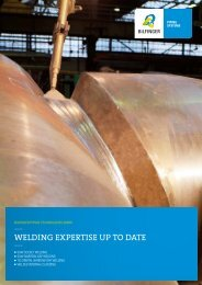 Welding expertise up to date
