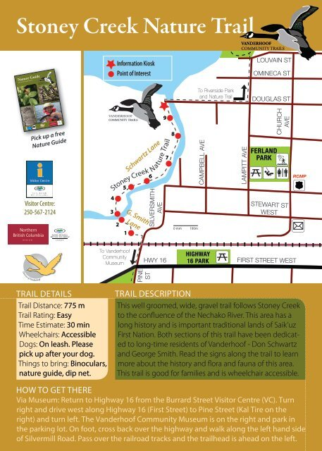 View tour card - Vanderhoof District Chamber of Commerce