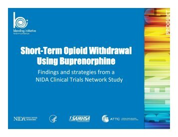 Short-Term Opioid Withdrawal Term Opioid Withdrawal ... - CASAT