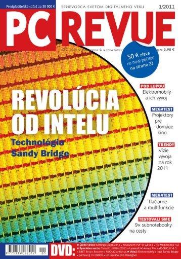 PC REVUE 1/2011