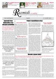 Redna številka 3 (pdf) - Društvo za zaščito ustave in žrtev cerkve
