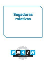 Segadoras rotativas Segadoras rotativas - Recambios Frain