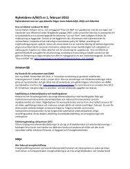 Nyhetsbrev A/M/S nr 1, februari 2012 (PDF 290 ... - Lunds universitet