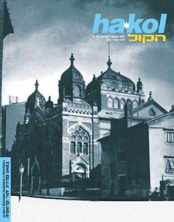 Ha-kol br.98.pdf - Židovska općina Zagreb