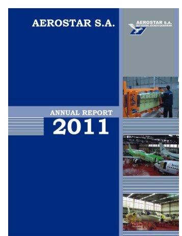 Annual Report 2011 - Aerostar S.A.