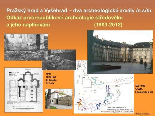 prezentace – PDF - Archeologický ústav AV ČR