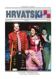 23. broj 8. lipnja - Croatica Kht.