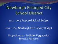 Newburgh Enlarged City School District - Newburgh Free Library