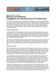 Monika-Erik-Artikel Privatisierung B + E - Arbeitskreis Bildung ...