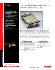 Dual 1×48, High Density, Multiplexer Card - Stanley Supply & Services