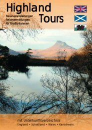 in Schottland - Highland Tours