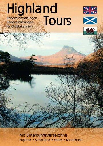 in Schottland - Highland Tours