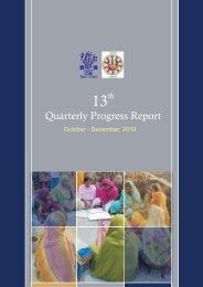 13th Quarterly Progress Report.pdf - Bihar Rural Livelihood ...