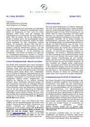 Elternbrief - Dr.-Engel-Realschule