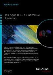 Das neue IIC – für ultimative Diskretion - GN ReSound