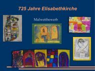 Präsentation 2,7 MB Pdf Datei - Elisabethkirche