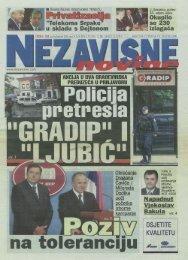 3) nezavisne novine