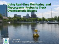 Real-time monitoring and measuring phycocyanin (Tom ... - NEIWPCC