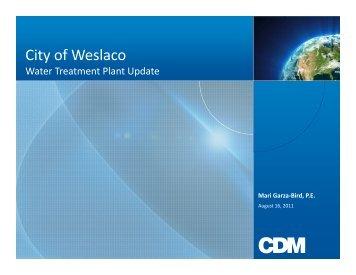MGD - City of Weslaco