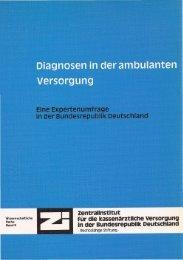 Diagnosen in der ambulanten Versorgung - Detlef Schwefel
