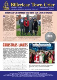 January 2013 Issue - Billericay Town Council