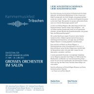 PDF Programmflyer Kammermusik - Richard Wagner Museum Luzern