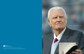 2004 ANNUAL REPORT - Billy Graham Evangelistic Association