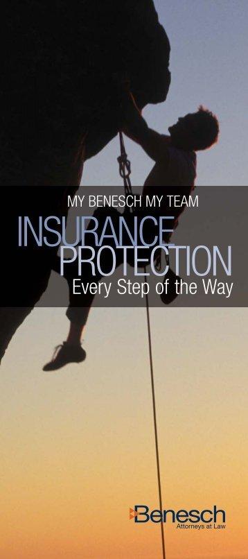 Insurance Brochure - Benesch