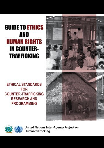 guide to ethics and human rights in counter- trafficking - Virtual ...