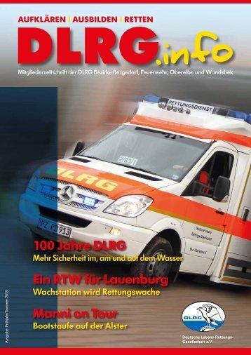 DLRG.info 1/2013 - DLRG Bezirk Bergedorf eV
