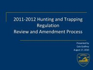 2011-2012 Hunting and Trapping - Virginia Department of Game ...