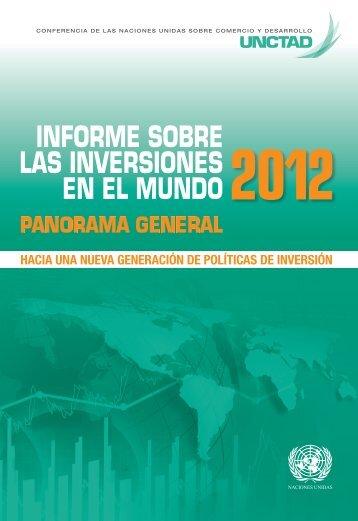 Informe sobre las inversiones en el mundo 2012 - unctad
