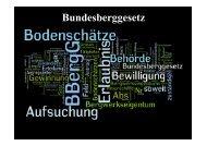Bundesberggesetz - Schutzgemeinschaft Bergbau Rheinberg e.V.