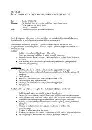Referat mulighetsskisser - Nord-Odal Kommune