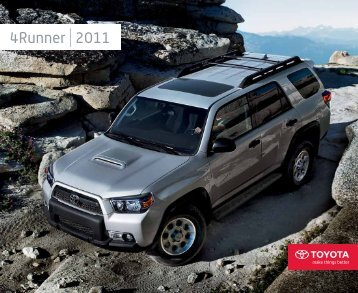 4Runner 2011 - Toyota Canada
