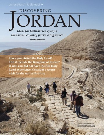 Discovering Jordan - Leisure Group Travel