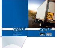 Leaflet SONNAK Truck batteries - Exide Technologies