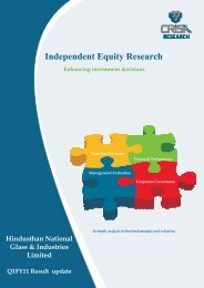 Independent Equity Research - Hindusthan National Glass ...